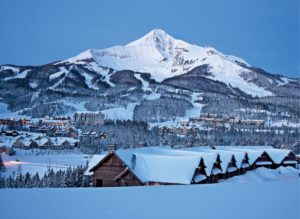 Big Sky Montana village