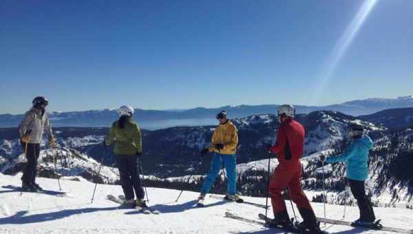 Learning how to be more efficient skiers on the slopes of Tahoe